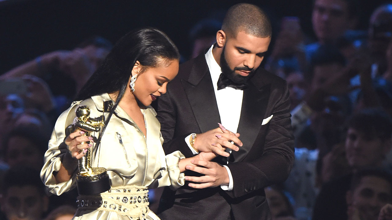 "rihanna Rihanna Refuses To Collaborate With Drake ""Anytime Soon"" 1242911076001 5104782559001 et RihannaDrake 1280"
