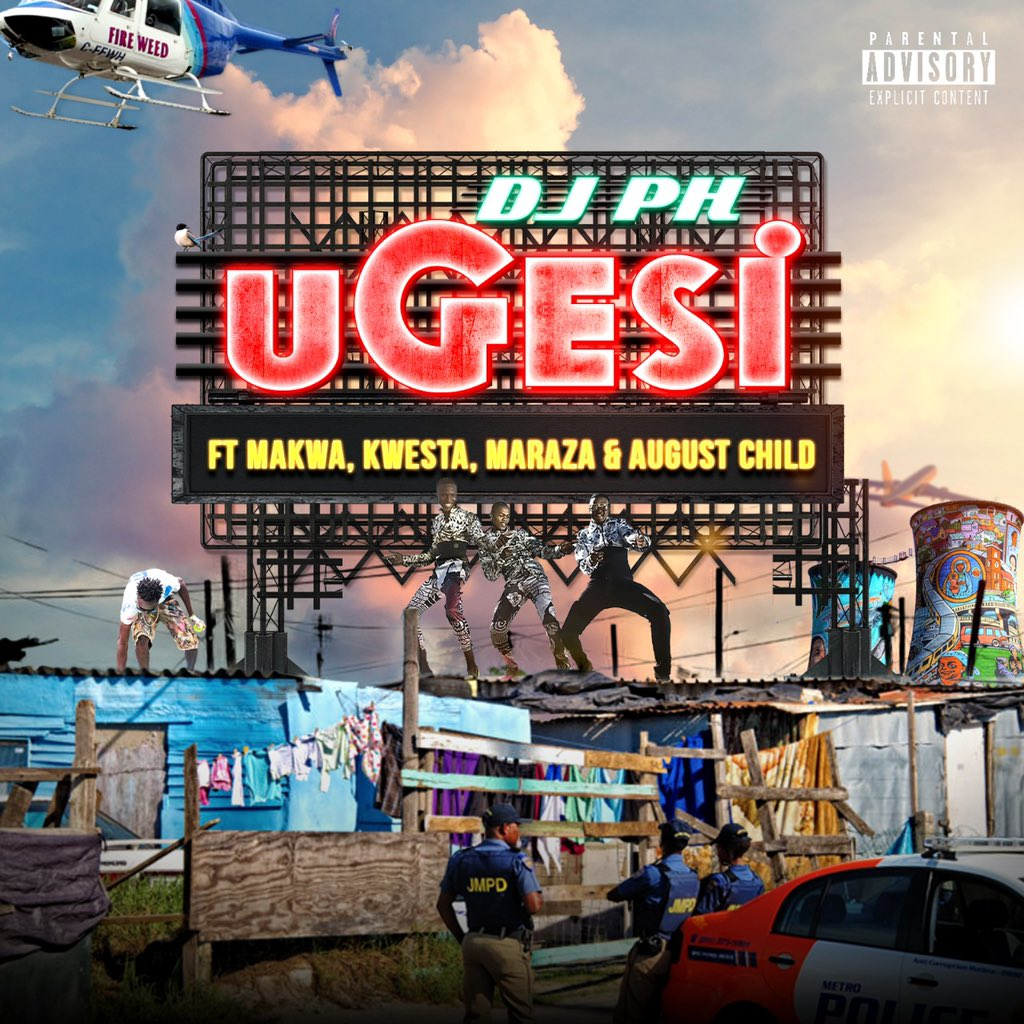 dj ph New DJ PH #uGesi Single Ft. Kwesta, MaraZa, Makwa & August Child Dropping This Friday D6lifXdXkAAgveY