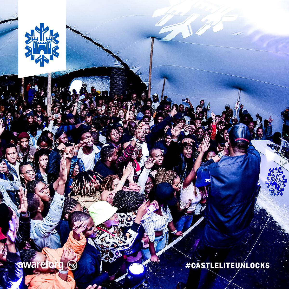 CASTLE LITE UNLOCKS CAPE TOWN! PHOTO 2019 05 13 10 15 04