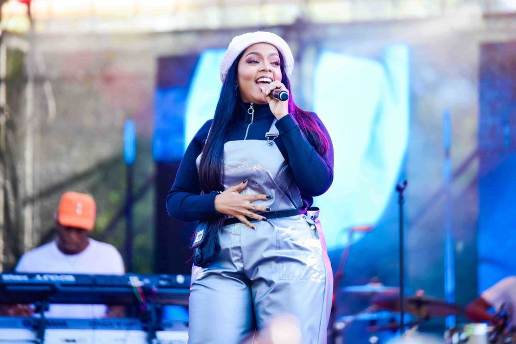 Masego brings international Flavour to the Flying Fish Ultimate #FlavourChillas Backyard Festival Shekhinah Flying Fish FlavourChillas Backyard Festival Image by On Air Entertainment 1024x683