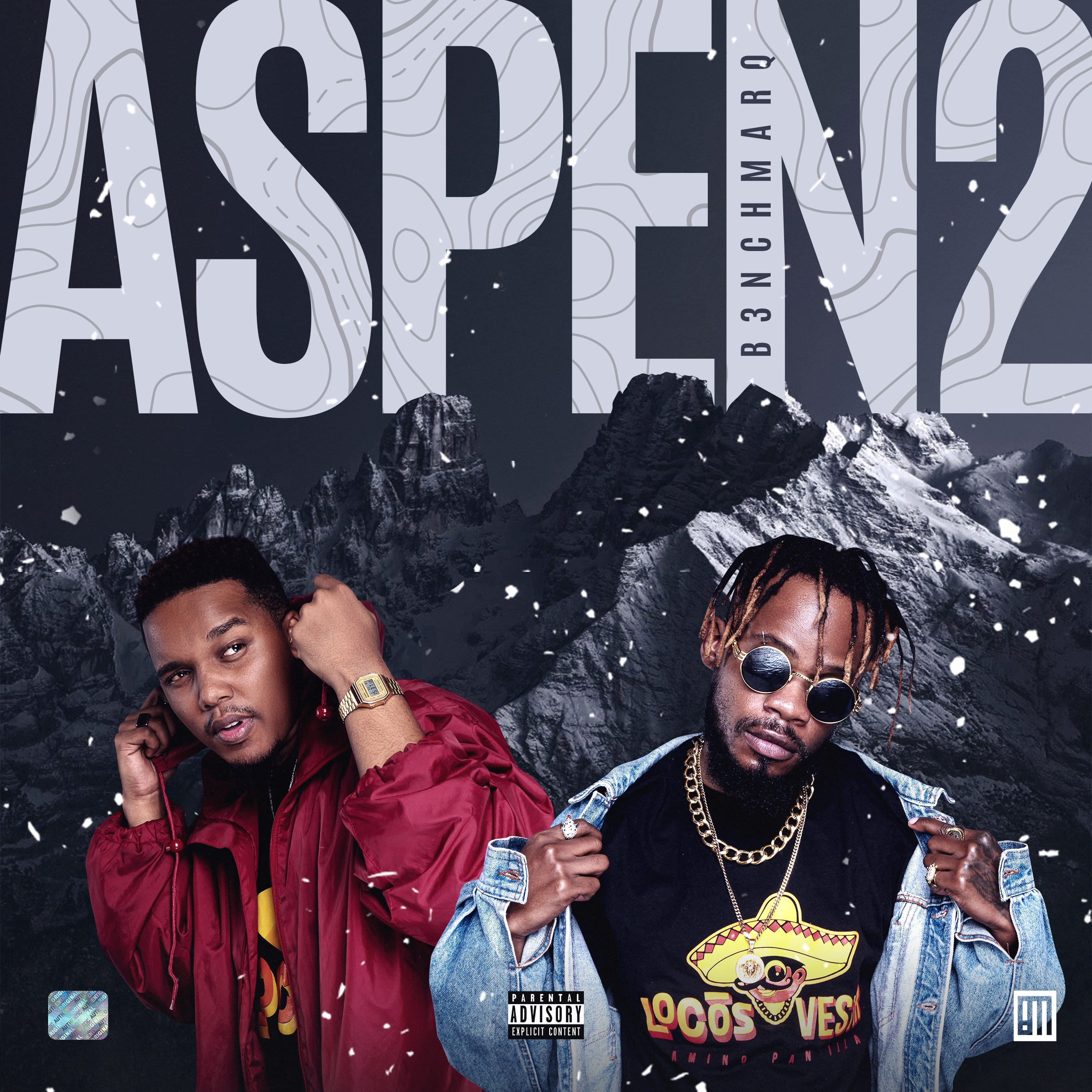 b3nchmarq B3nchMarQ Drop 'Aspen 2' Album Cover/Tracklist Plus New 'Hyperbolic Chamber' Joint Ft. Flame [Listen] Aspen2 Cover Option2Artboard 1