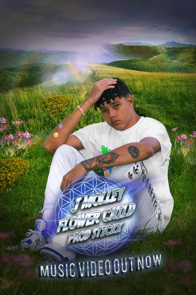 J Molley Drops New 'Flower Child' Video [Watch] D87XvmNXkAA aJW