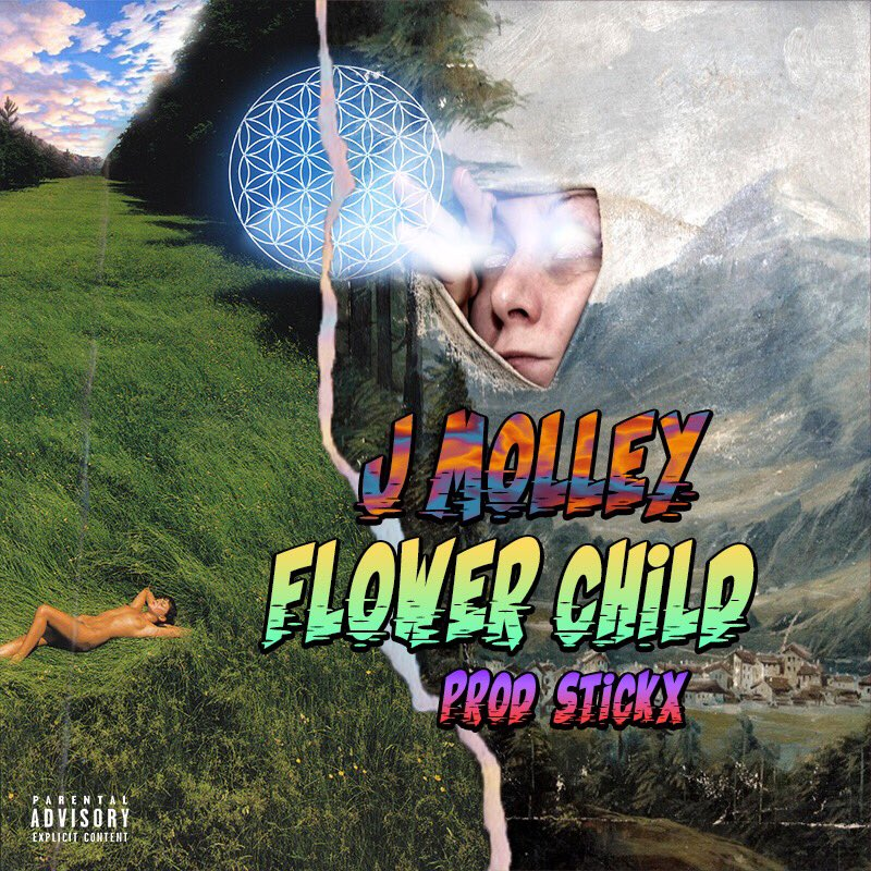 J Molley Dropping 'Flower Child' This Friday D8OuHzpWwAEGJJT