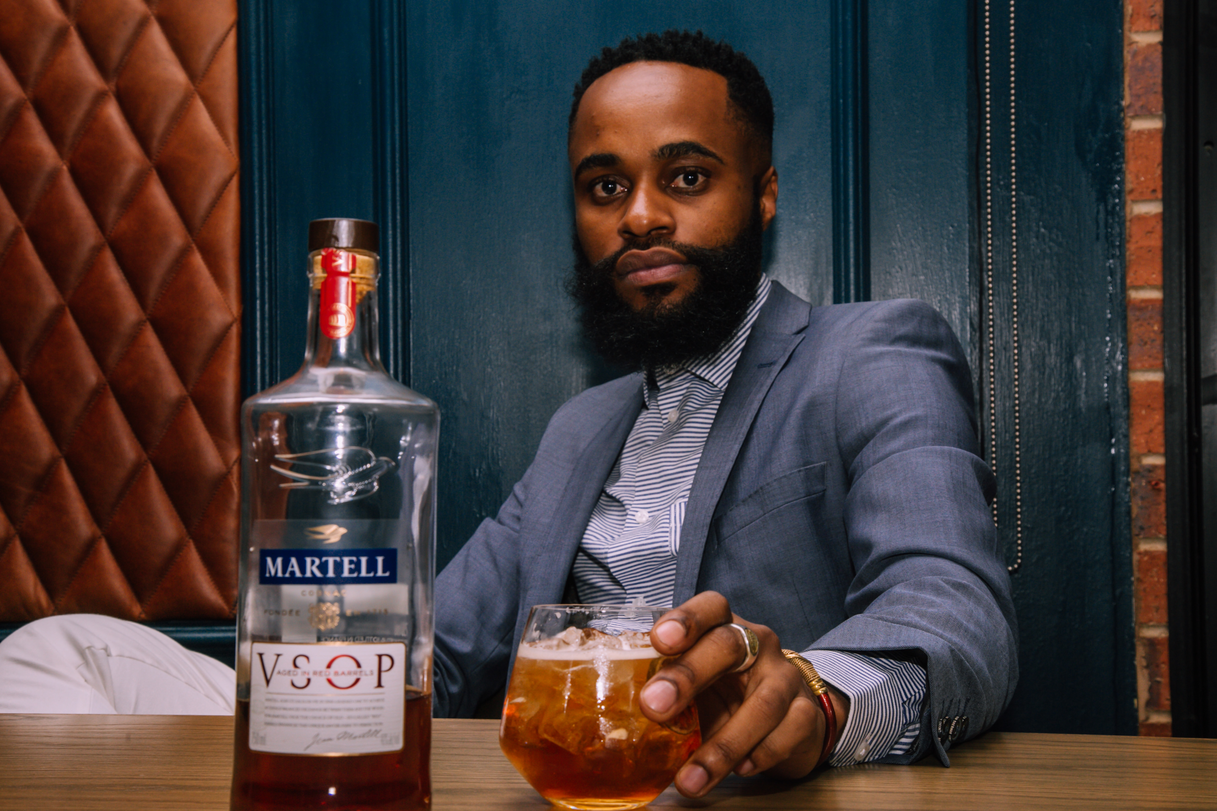 martell HYPE Magazine Interviews Hussain For World Cognac Day W/ Martell Cognac Made2Fly7137