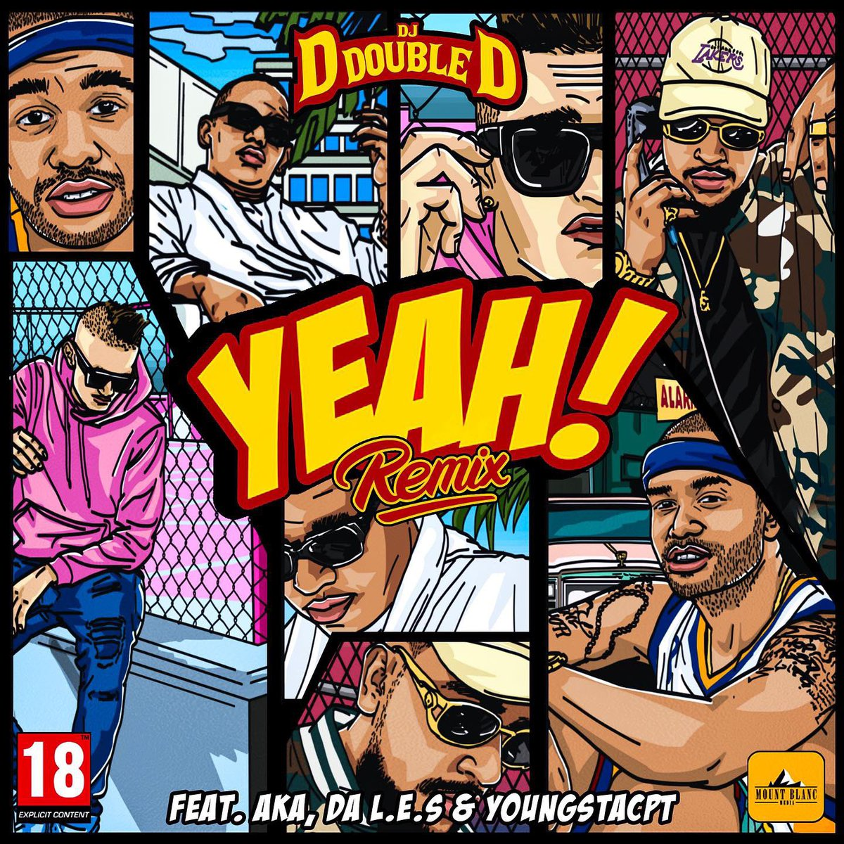 dj d double d ‏ DJ D Double D ‏Drops 2 New Joints Ft. AKA, Da L.E.S, YoungstaCPT, Flame & CROWNEDYUNG [Listen] D sZyILWkAAQI0o