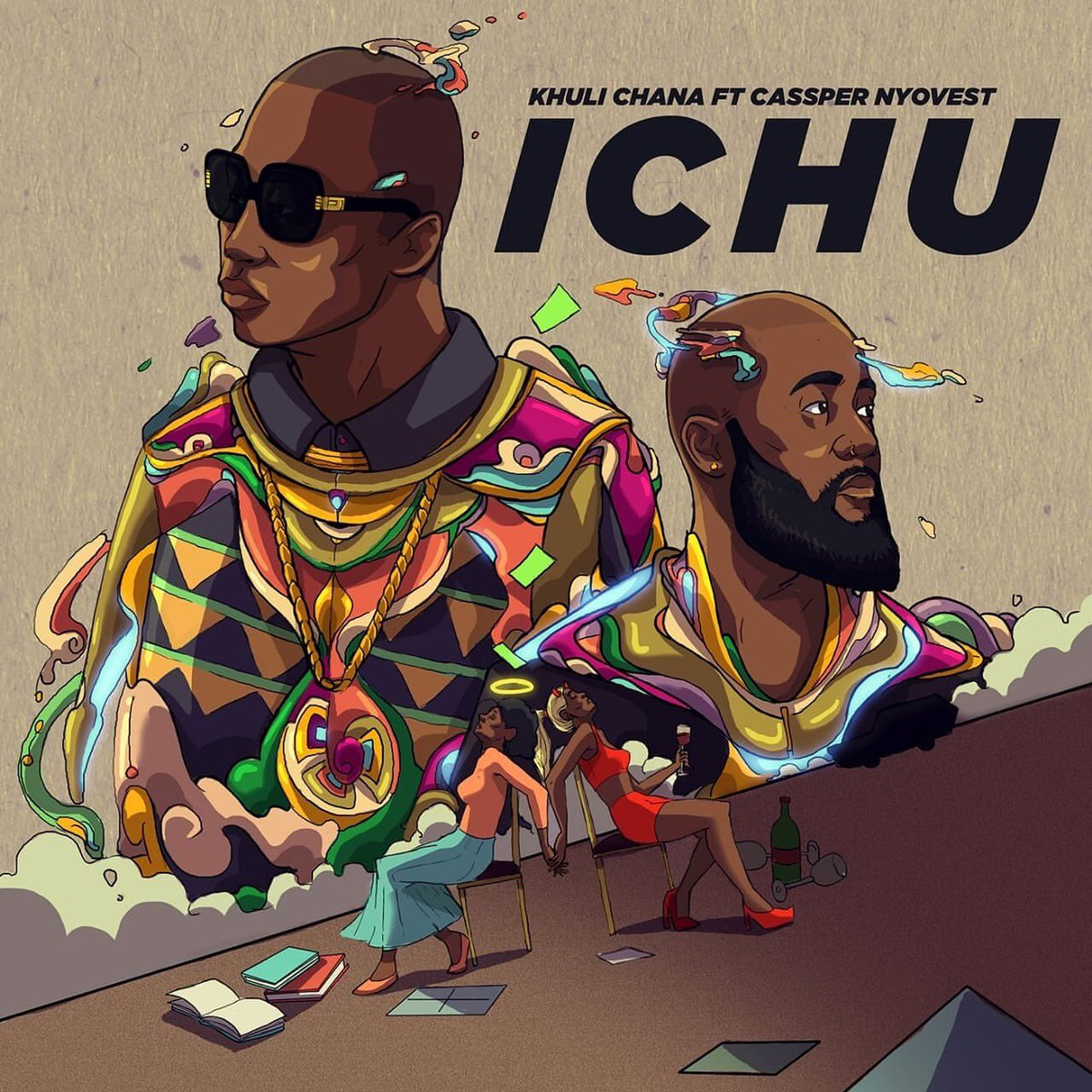 khuli chana New Khuli Chana x Cassper Nyovest #Ichu Single On The Way D Qhj2OUEAEBtie