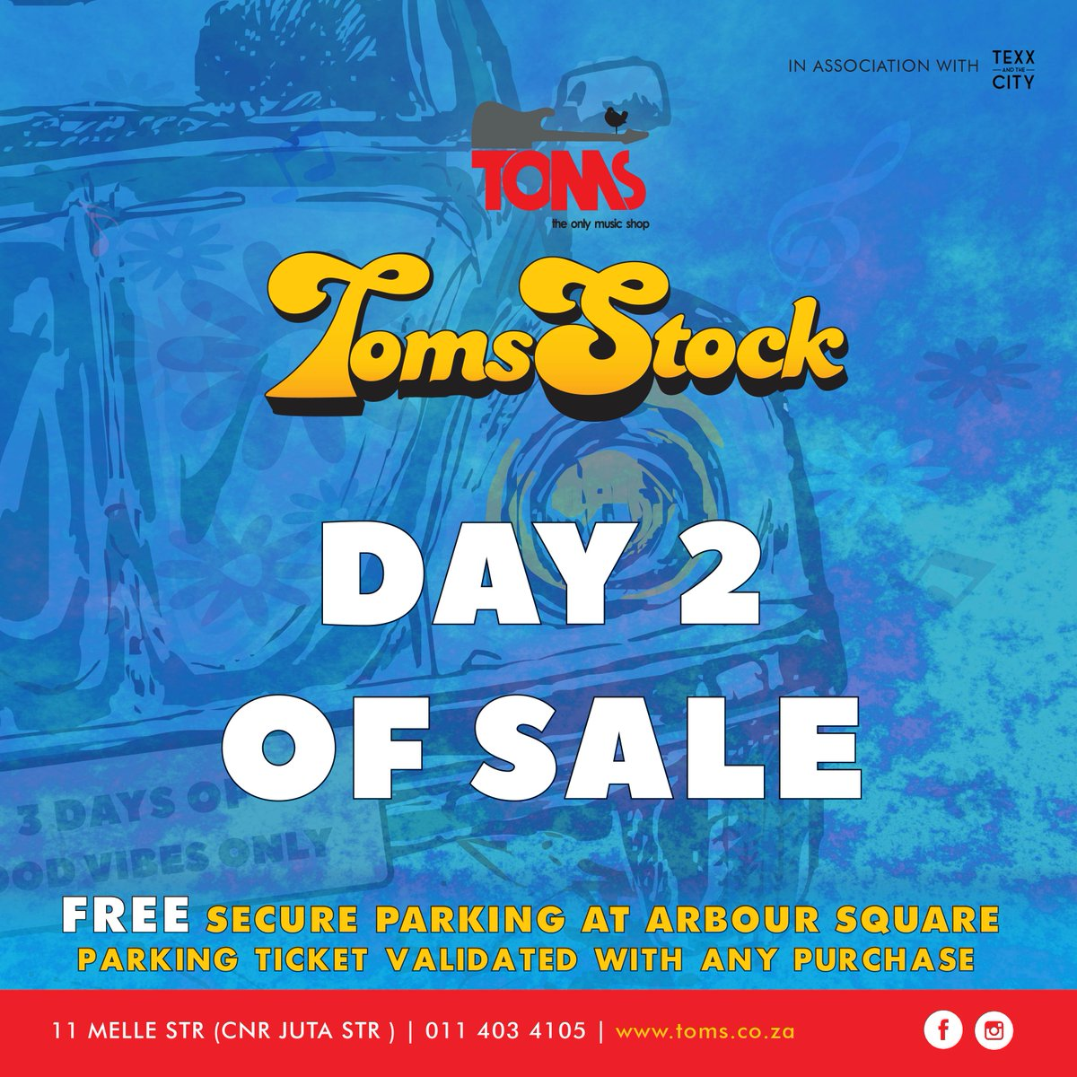 TOMS Braamfontein 2019 Annual Sale Is Still On! day2