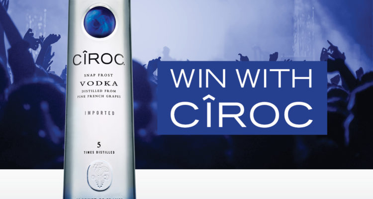 WIN One Of x 5 Double Tickets To Pop Bottles With CÎROC DSA0014 CIROC Social Post2 750x400