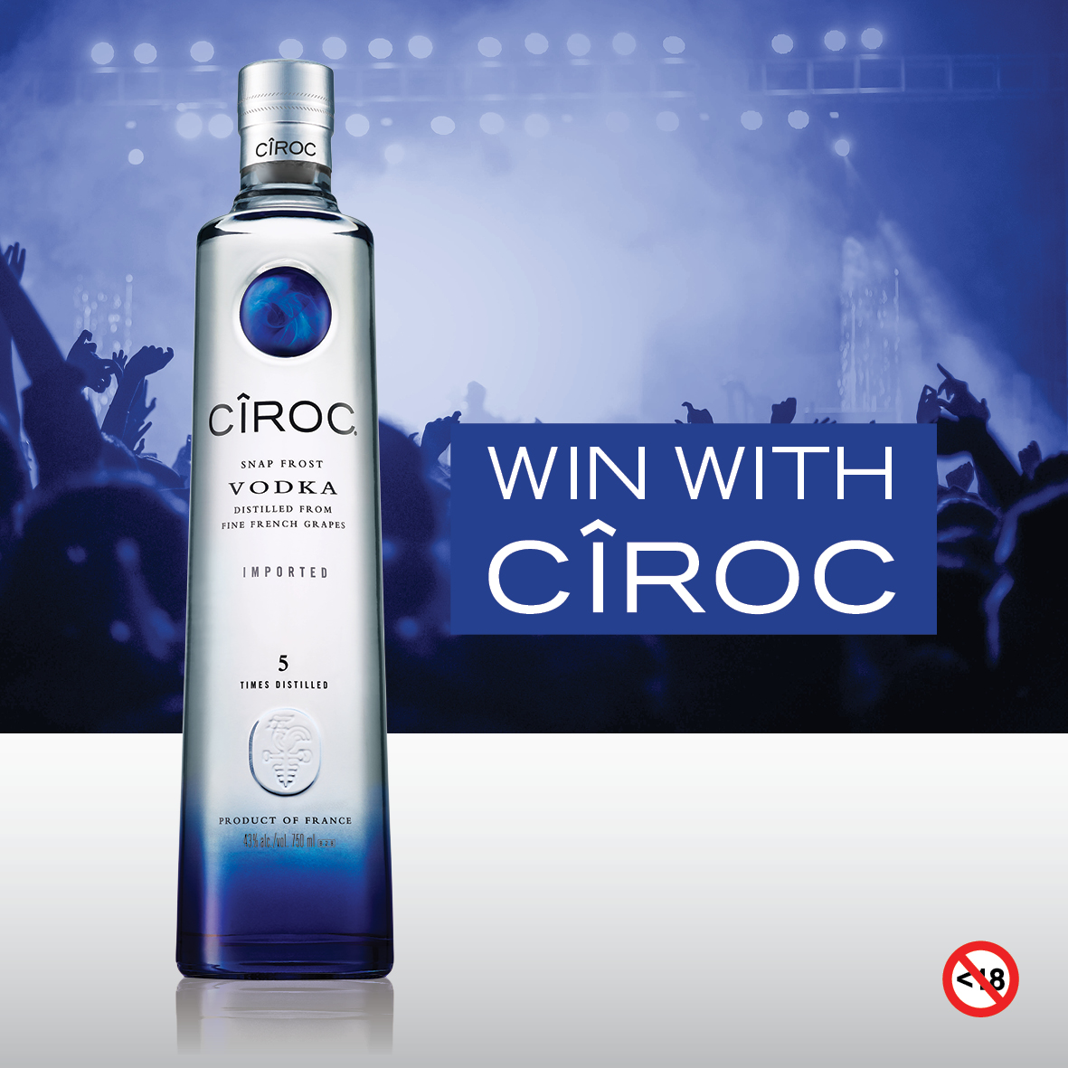 WIN One Of x 5 Double Tickets To Pop Bottles With CÎROC DSA0014 CIROC Social Post2
