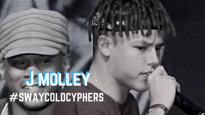 j molley Sway's Universe Shows Love To One Of Our Hyena's J Molley [Watch] IrfJmsEE