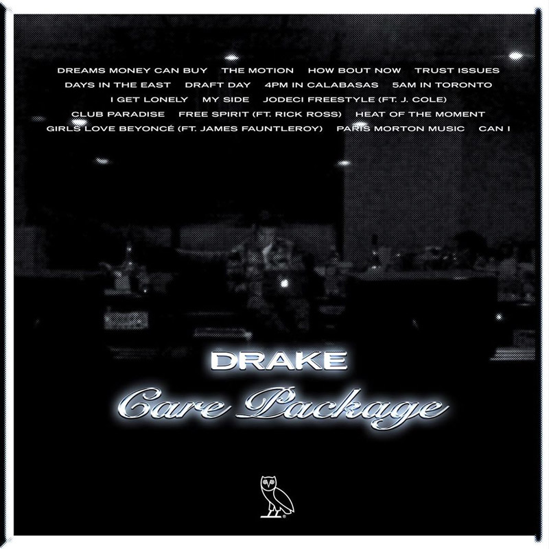drake Drake Drops New 17 Track 'Care Package' Compilation Album [Listen] care package tl