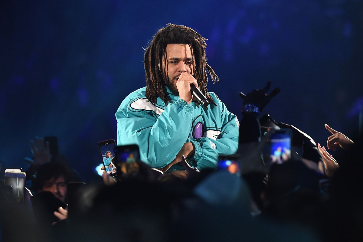 j. cole Watch New J. Cole, Smino & Saba in Dreamville's 'Sacrifices' Music Video j cole dreamville down bad got me stream 01