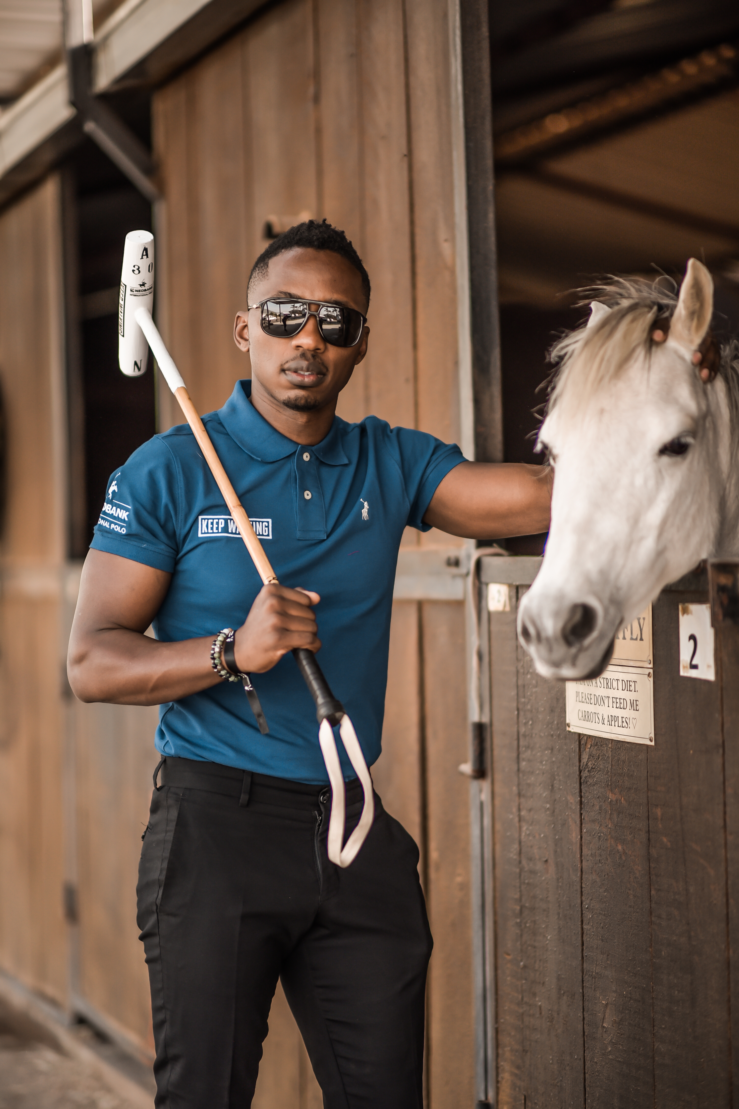 SOUTH AFRICA'S FIRST EVER WHISKY MEETS POLO MASTERCLASS Andile Ncube