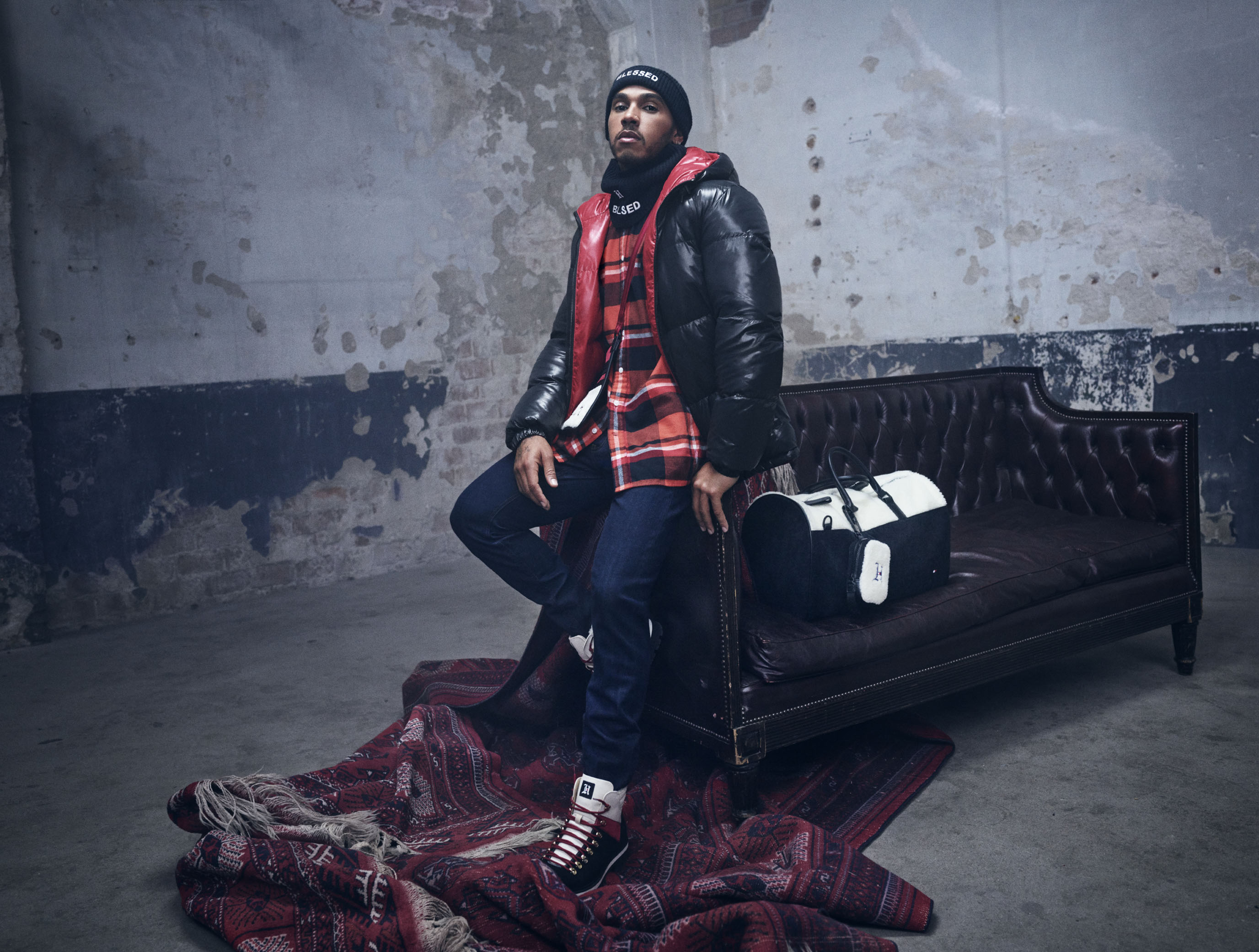TOMMY HILFIGER AND LEWIS HAMILTON PRESENT FALL 2019 TOMMYXLEWIS COLLABORATIVE COLLECTION IN MILAN FW19 LH MSW 01 72 SRGB