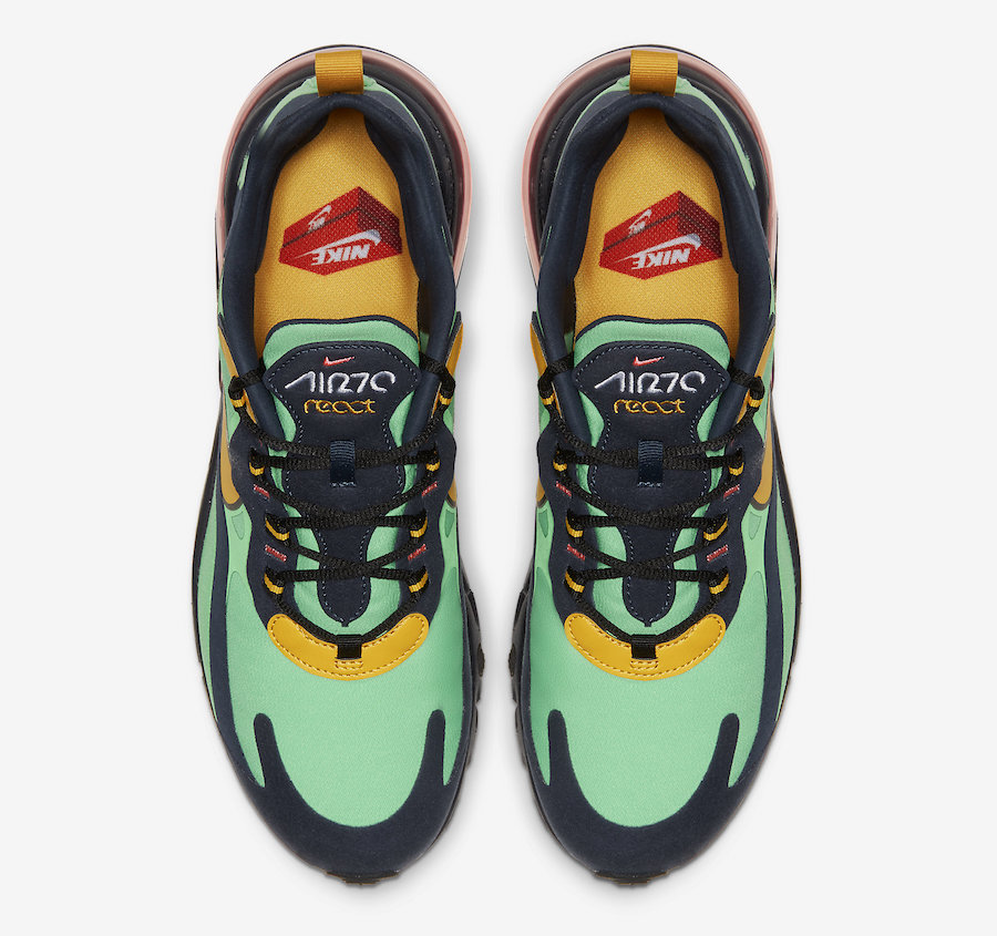 info for 62197 d27ee New Nike Air Max 270 React 'Electro Green' | Hype Magazine