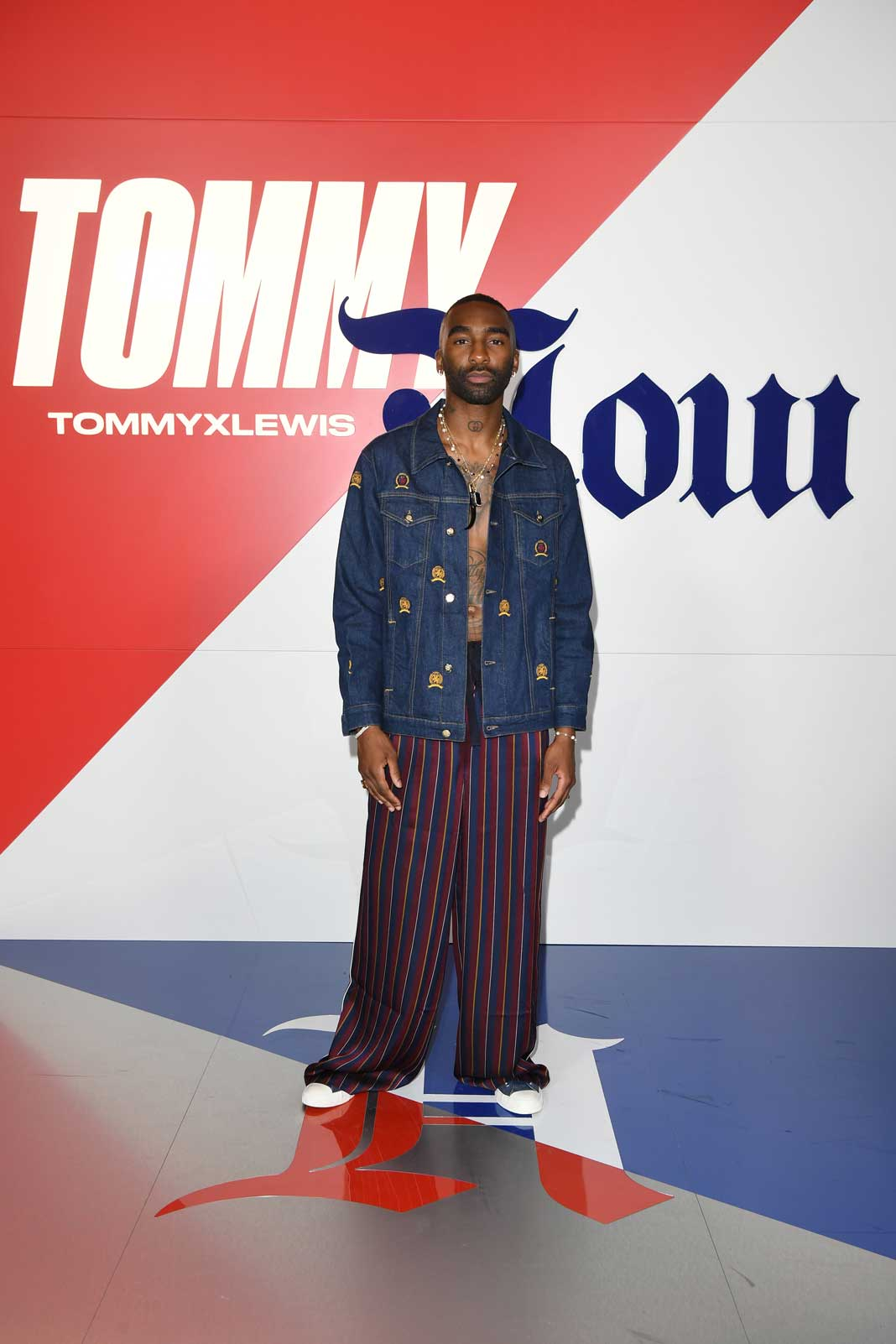 RIKY RICK WEARS TOMMY HILFIGER TO THE FALL 2019 TOMMYNOW TOMMYXLEWIS EXPERIENTIAL EVENT IN MILAN RIKY RICK jpg