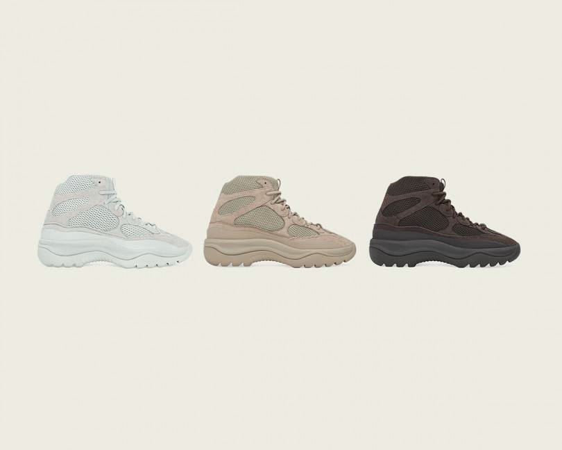 adidas x KANYE WEST Announce The YZY DSRT BT Salt, YZY DSRT BT Rock, And The YZY DSRT BT Oil resize